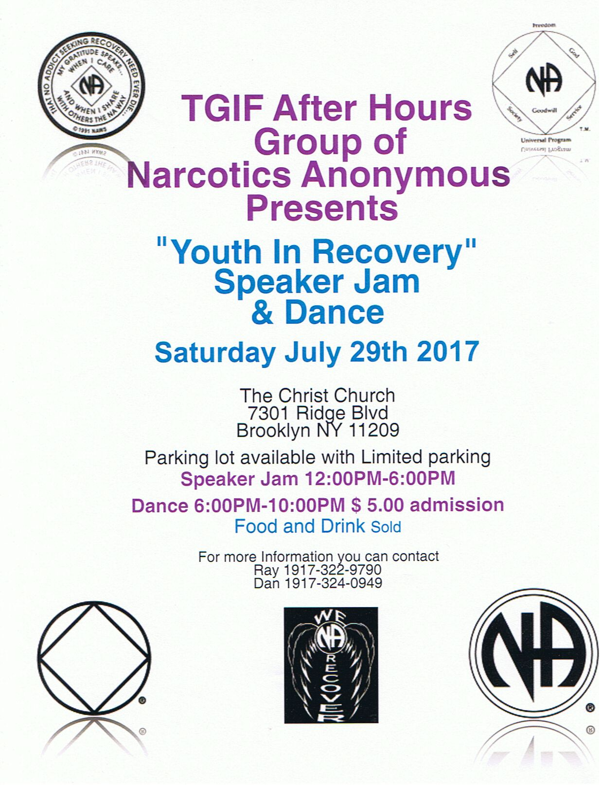 """Youth In Recovery"" Speaker Jam @ The Christ Church"