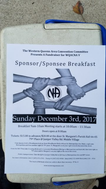WQA Sponsor/Sponsoree Breakfast @ St. Margaret