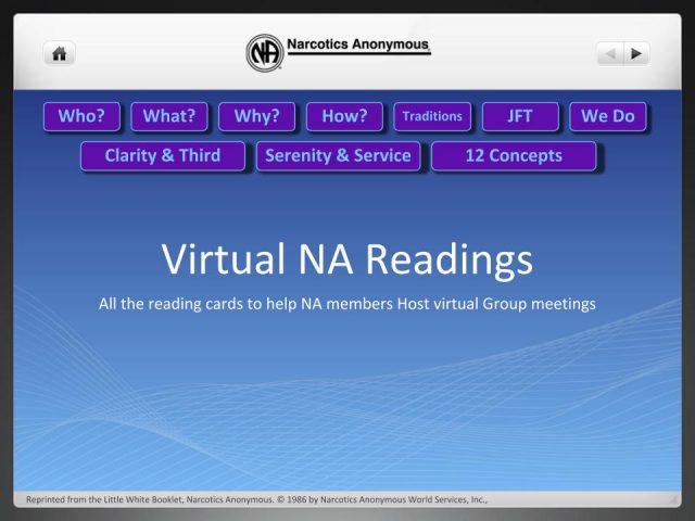 Virtual Readings Slideshow